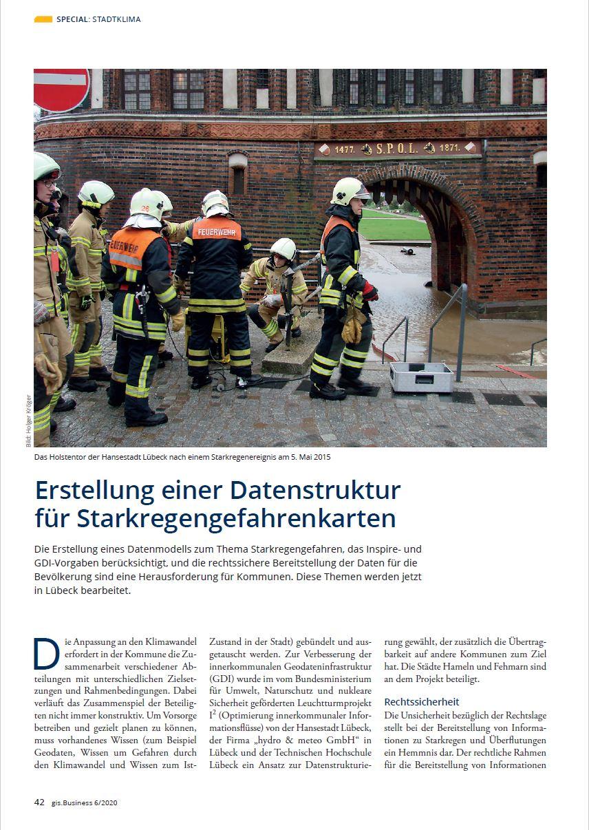 VDE Verlag, gis.Business 06/2020 Artikel